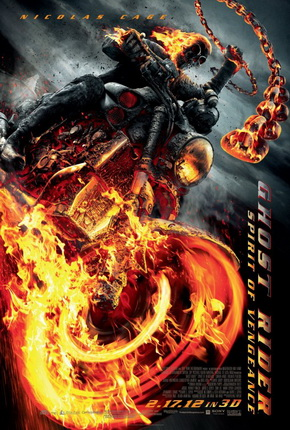 Ghost Rider: Spirit of Vengeance is a 2012 American 3D supernatural superhero film based on the Marvel Comics antihero Ghost Rider. A French priest named Moreau warns the monks of a monastery about an impending attack by the devil's forces to obtain a boy named Danny. Moreau manages to distract the men chasing Danny and Nadya, but nearly dies and loses them. He believes only the Ghost Rider is capable of protecting the boy