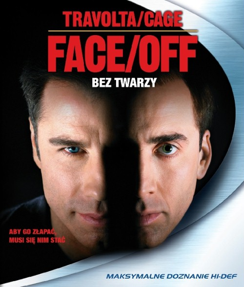 Face/Off is a 1997 American action thriller film directed by John Woo, starring Nicolas Cage and John Travolta. The two both play an FBI agent and a terrorist, sworn enemies who assume the physical appearance of one another. FBI Special Agent Sean Archer (John Travolta) has a personal vendetta against civil freelance terrorist Castor Troy (Nicolas Cage) after Castor killed Archer's son Michael while trying to assassinate Archer.